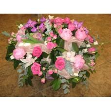 """Букет """"Розы и хризантемы"""""""