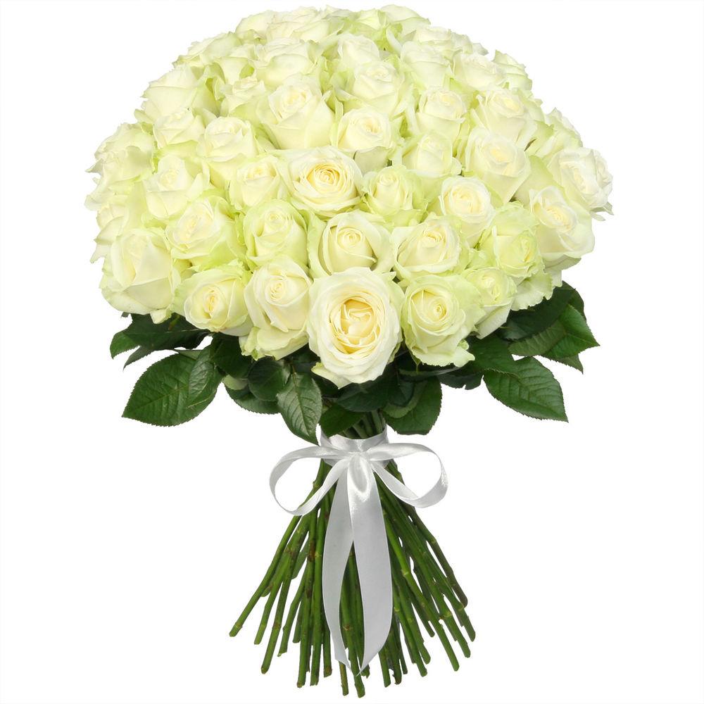 Букет белых роз в Москве