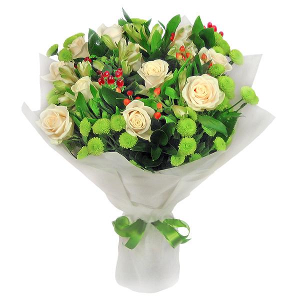 Доставка цветов Москва - букет роз