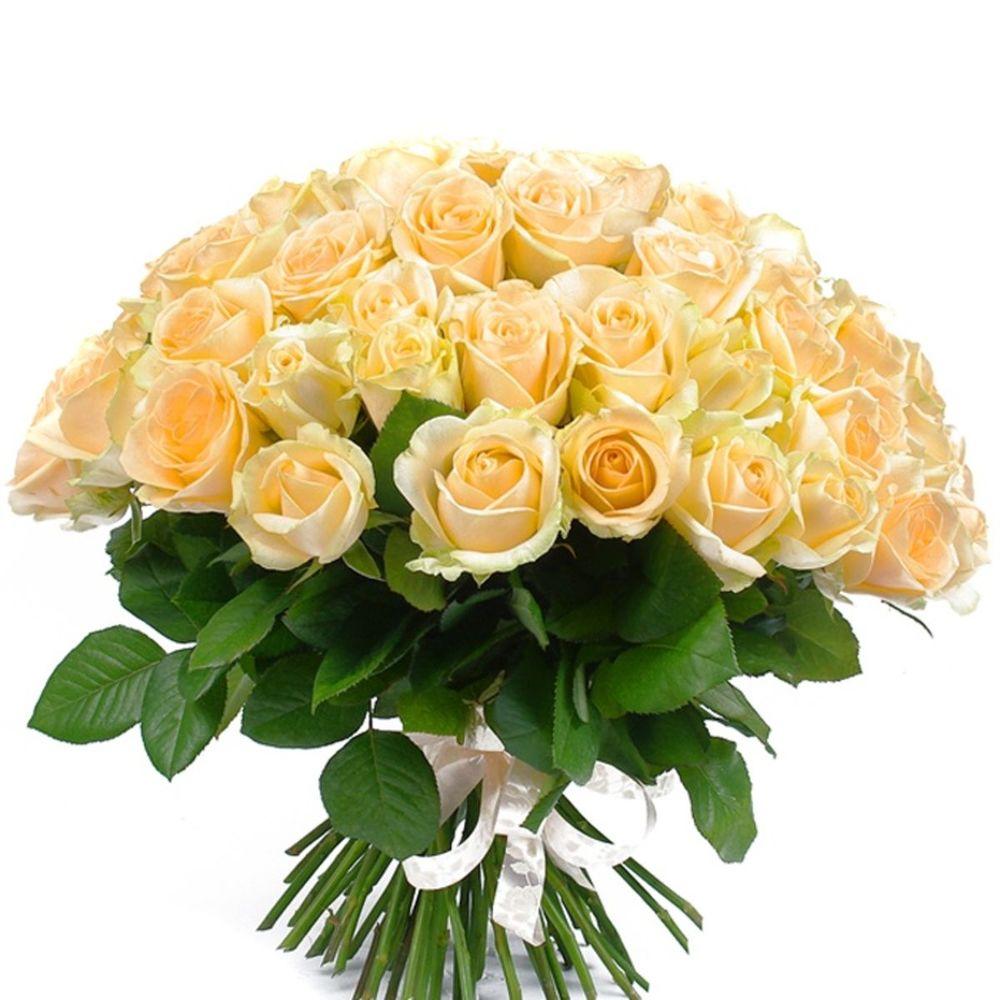 Букет кремовых роз в Москве