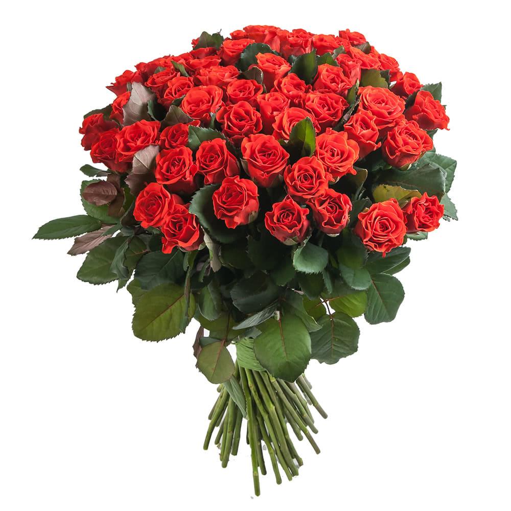 Букет красных роз в Москве